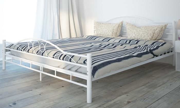 Estructura de cama metálica | Groupon Goods