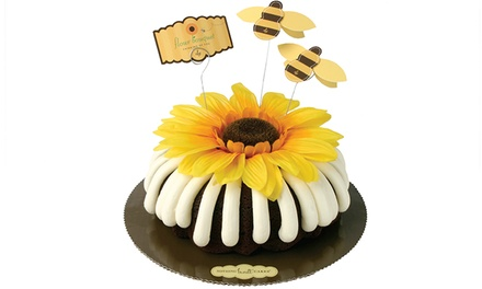 $10 for $20 Toward Hand-Decorated Bundt Cakes at Nothing Bundt Cakes