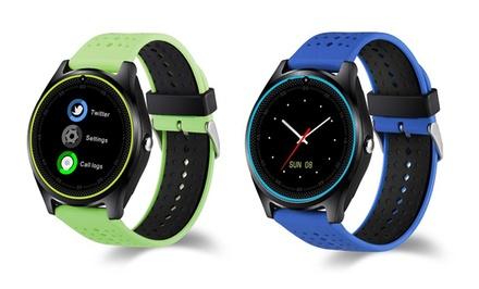 Smartwatch V9 con slot scheda SIM