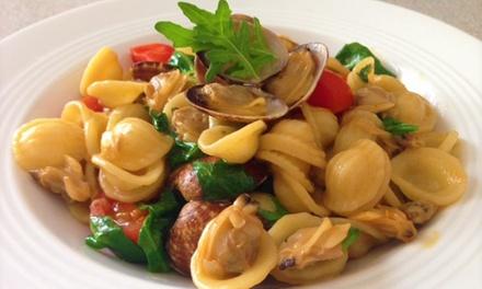 ⏰ Menu di pesce con dolce e vino a 39,90€euro