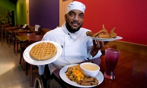 Southern Food for Two or Four or More at Rush Hour Chicken & Waffles (Up to 52% Off)