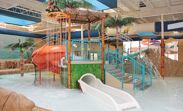 Clarion Hotel Palm Island Indoor Waterpark - Batavia, NY: Stay with Optional Water-Park Passes at Clarion Hotel Palm Island Indoor Waterpark in Batavia, NY. Dates into October.