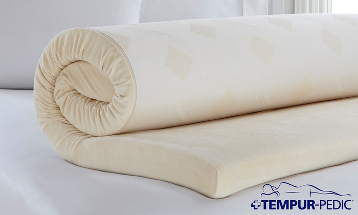 Closeout Tempur Pedic Memory Foam Mattress Topper Groupon