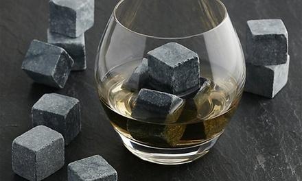 Fino a 3 set di cubetti di Whiskey da 9 pezzi ciascuno, disponibile in 2 varianti