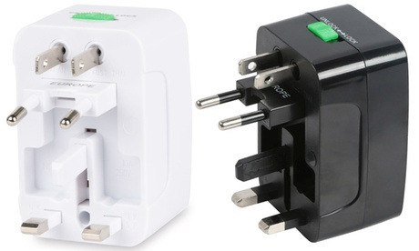 Universal All-In-One Travel Adapter 7c3fe8f5-9b98-457c-b8c0-40088477694b