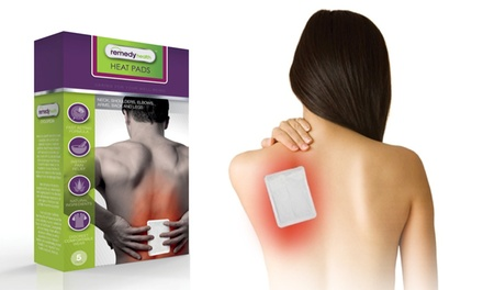Remedy Health Pain Relief Heat Pads Including Delivery