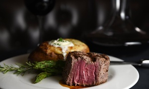 Up to 32% Off Steakhouse Dinner at Gaslight Grill at Gaslight Grill, plus 6.0% Cash Back from Ebates.