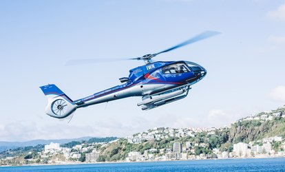 Scenic Helicopter Flight: Two ($338), Four ($676), Six People ($1,014) with Wellington Helicopters (Up to $1,434 Value)
