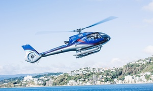 Wellington Helicopters: Scenic Helicopter Flight: Two ($338), Four ($676), Six People ($1,014) with Wellington Helicopters (Up to $1,434 Value)