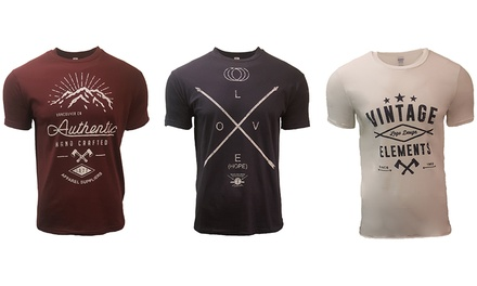 Pack de 3 camisetas Tunni para hombre