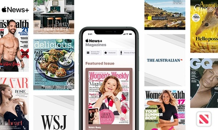 Enjoy Two Free Months of Apple News+ with Access to Hundreds of Magazines and Leading Newspapers