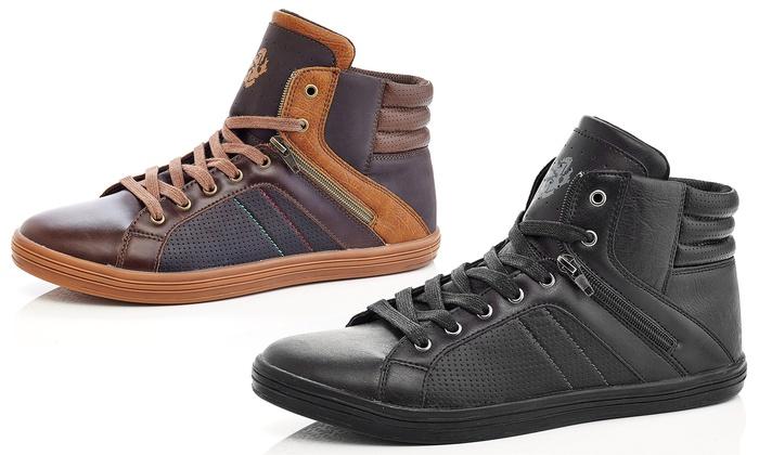 Adolfo Albert Men's High-Top Sneakers