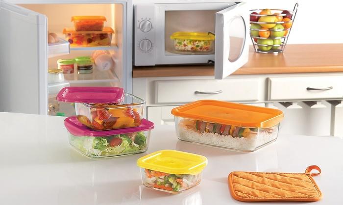 Luminarc KeepNBox Food Storage Container Sets 6 Piece Groupon