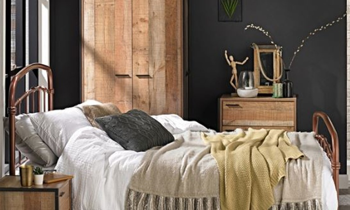 Hoxton Industrial-Style Bedroom Range from £59.99