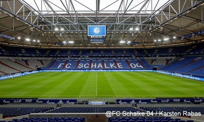 arena tour und schalke museum fc gelsenkirchen schalke 04 e v groupon. Black Bedroom Furniture Sets. Home Design Ideas
