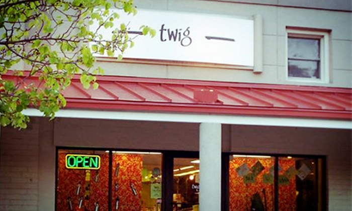 Twig - Chapel Hill: $15 for $30 Worth of Environmentally Friendly Clothing, Home Goods, and Toys at Twig