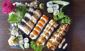 Kyodai Sushi Restaurant: Kyodai Special Sushi Platte mit Miso Suppe für zwei oder vier Personen imKyodai Sushi Restaurant (bis zu 62% sparen*)