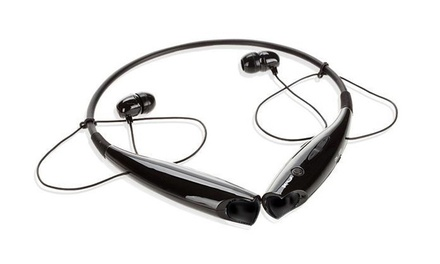 wireless bluetooth stereo earbuds groupon goods. Black Bedroom Furniture Sets. Home Design Ideas
