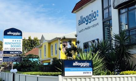 Brisbane, QLD: Superior Room for Two or Three with Breakfast and Wine at Alloggio Hamilton Brisbane Airport