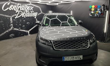 Tratamiento de ozono o limpieza exterior o interior con opción a limpieza de tapicería en Centralbox Detailing Bernabéu