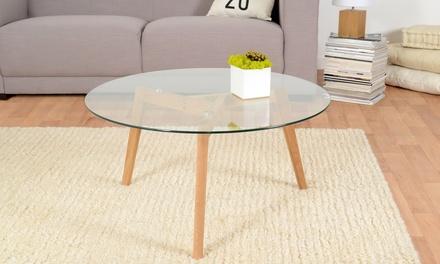 table basse avec plateau groupon. Black Bedroom Furniture Sets. Home Design Ideas