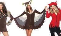 Leg Avenue Cozy Fleece Viking, Owl, or Devil Costumes Deals