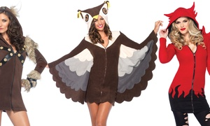 Leg Avenue Cozy Fleece Viking, Owl, or Devil Costumes