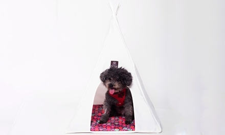 Coco Jojo Pet Teepee Tent in Choice of Size