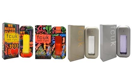 FCUK or FCUK Late Night Fragrance for Women or Men (3.4 Fl. Oz.)