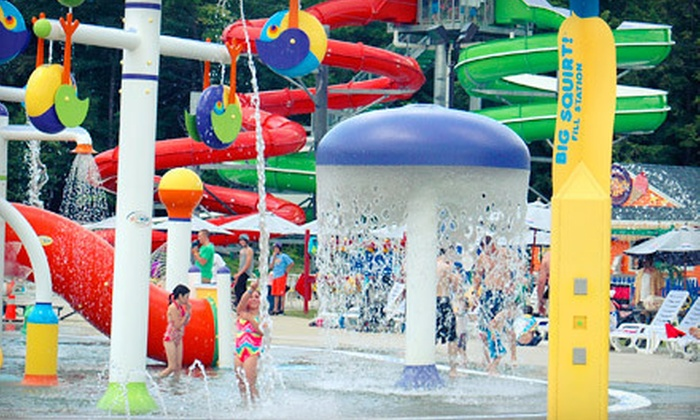 Liquid Planet Water Park - Candia: Water-Park Visit with a Zipline Ride and Mini Golf for One or Two at Liquid Planet Water Park (Up to 54% Off)