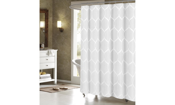 Duck River 70x70 Wrinkle Wave Shower Curtain
