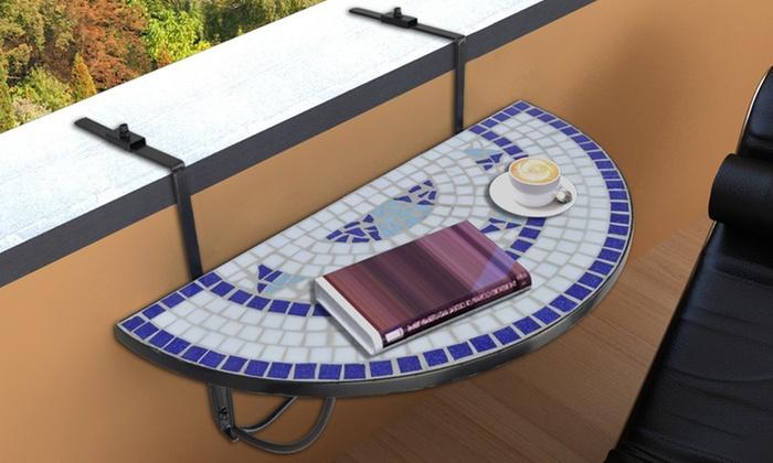 Tavolino pendente da balcone groupon goods for Tavolino per balcone