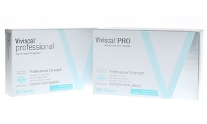 Viviscal Professional Hair Growth Dietary Supplement (60- or 180-Pack)
