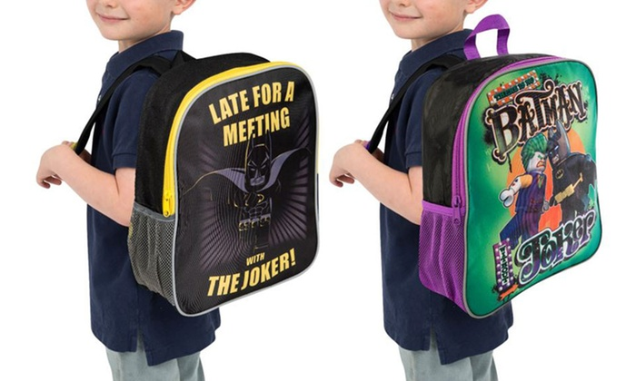 764a6974b701 Lego Batman and Joker Backpack