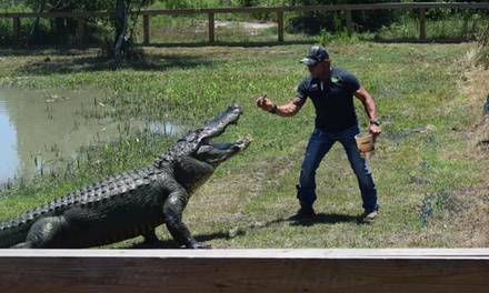 General Admission for One, Two, or Four to Gator Country (Up to 42% Off)