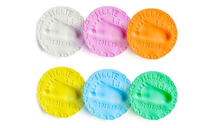 1 o 2 paste autoindurenti per impronte disponibili in vari colori