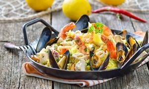 Le Magnolie: Menu pesce di 4 portate più una o 2 bottiglie di vino per 2 o 4 persone al ristorante Le Magnolie (sconto fino a 59%)