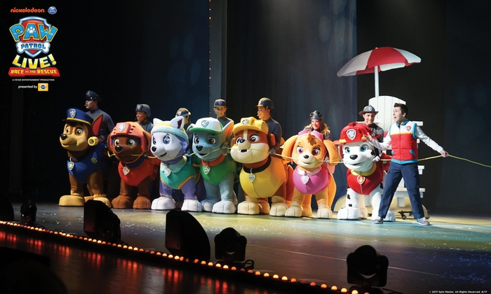 PAW Patrol Live! - PAW Patrol Live! Race to the Rescue | Groupon