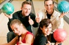 Namco Station - Tamworth: Ten-Pin Bowling: Two Games For Four People Plus Burger Each for £9.95 at Namco Station Tamworth