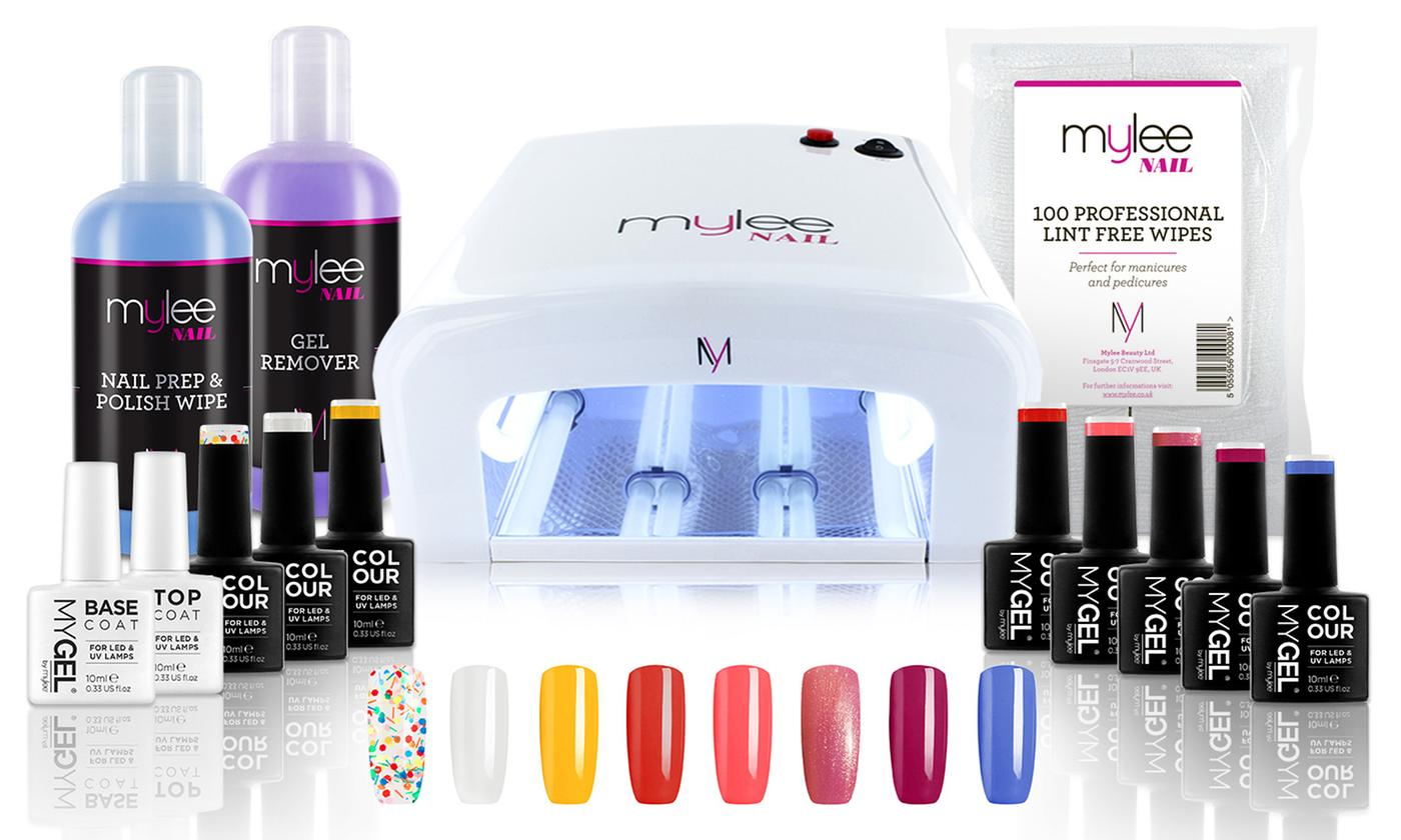 Mylee 36W UV Lamp with Optional Gel Nail Essentials Kit (£13.29)
