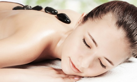 One or Two 60-Minute Hot-Stone Massages at The Circle Arts Studio (Up to 51% Off)