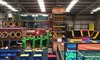 Mister Twister's Wacky World of Fun - Wardley: 60-Minute Trampoline and 30-Minute Soft Play Access for One or Two at Mister Twister's Wacky World of Fun