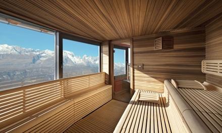 Spa con vista Dolomiti