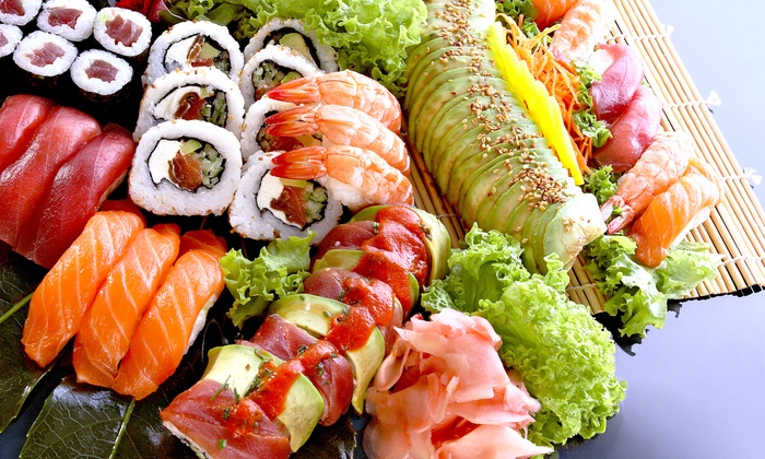 Oishi Sushi - Greenbrier West: $15 for $30 Worth of Sushi and Japanese Food for Two at Oishi Sushi