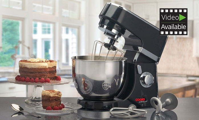 Cooks Professional 800W Stand Mixer for £59.99 with Free Delivery (78% Off)