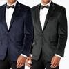 Gianni Uomo Men's Velvet Sport Coat
