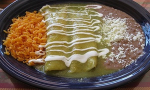 Los Tacos Locos: Tacos and Mexican Food at Los Tacos Locos (40% Off). Two Options Available.