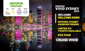 Vivid Cruise + Welcome Drink