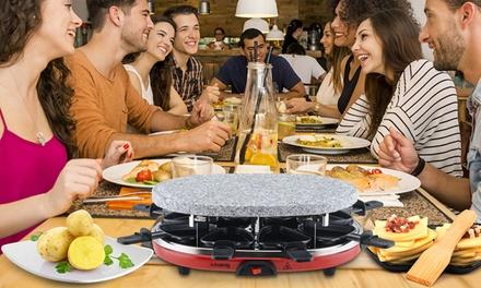 Raclette grill H.Koenigper otto persone a 45,99 € (54% di sconto)