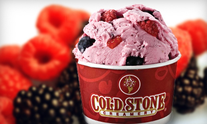 Cold Stone Creamery - Astoria: 5 or 10 Frozen Yogurts with Toppings at Cold Stone Creamery (Up to 55% Off)